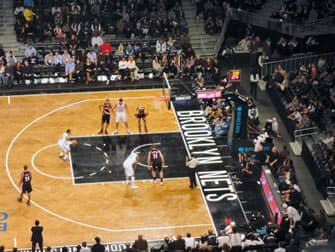 Brooklyn Nets in New York - Basketbalwedstrijd