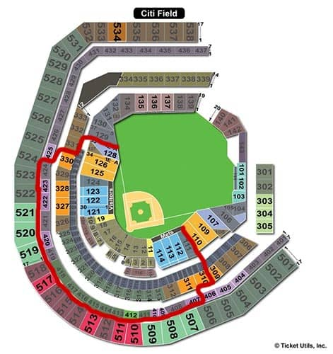 New York Mets - Citi Field Seating Chart