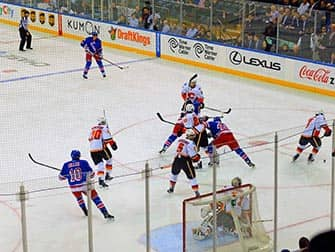 New York Rangers - Rangers tegen Calgary Flames