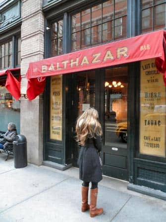 Balthazar in New York