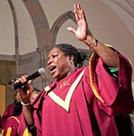 gospelzangeres in new york